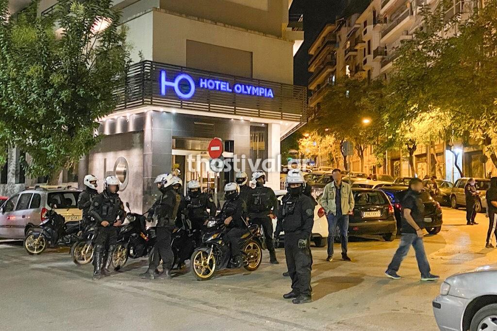 Ομάδα της Δίκυκλης ΟΠΚΕ στο σημείο της επίθεσης